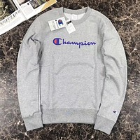 Champion Casual Fashion Round Neck Top Sweater Pullover