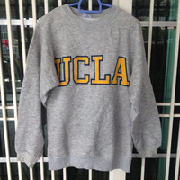vintage 80's UCLA University of California Los Angles crewneck sweatshirt big logo Small size