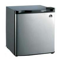 1.6 cu. ft. Mini Refrigerator Stainless Steel Reversible Door Compact Fridge
