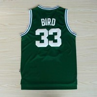 Best Deal Online Mitchell & Ness Hardwood Classics NBA Basketball Jerseys Boston Celtics #33 Larry Bird Green