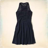 Bay Park Lace Skater Dress