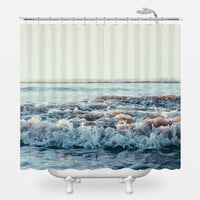 Pacific Ocean Shower Curtain