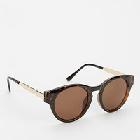 Keyhole Round Sunglasses - Urban Outfitters