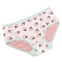 Women Underwear Cute Ice Cream Printed Ladies Briefs Panties Intimates Briefs Knickers Seamless Panties Lingerie Underpants