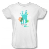 Psych - Predict And Serve Womens T-Shirt In White