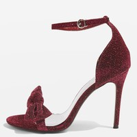 MESMERISE Bow Heel Sandals - Heels - Shoes
