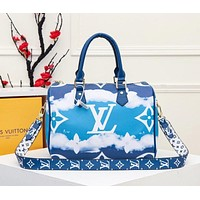lv louis vuitton womens tote bag handbag shopping leather tote crossbody satchel 124