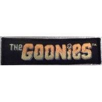 THE GOONIES Movie Logo Embroidered PATCH