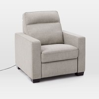 Henry® Power Recliner Chair - Twill, Gravel