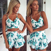 Hot Sale Women Clubwear Flora Playsuit Bodycon Party Jumpsuit&Romper Trousers