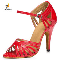 Women's Girl's Professional Standard Sandals Latin/Ballroom/Salsa Dance Shoes 8.5cm Customizable High Heel