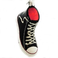 Old World Christmas HIGH TOP SNEAKER Blown Glass 32172