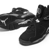 AIR JORDAN 8 (CHROME / BLACK)
