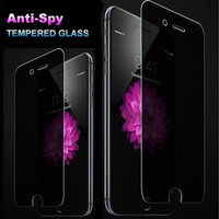 Anti-Spy Peeping Privacy Tempered Glass Screen Protector For iPhone 5s 6 / 6s /6 Plus/6s Plus