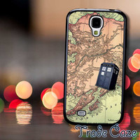 Tardis Map Doctor Who,Accessories,Case,Cell Phone, iPhone 4/4S, iPhone 5/5S/5C,Samsung Galaxy S3,Samsung Galaxy S4,Rubber,17/12/09/Rk