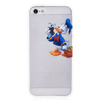 Donald Duck Transparent Case for iPhone 5 & 5S