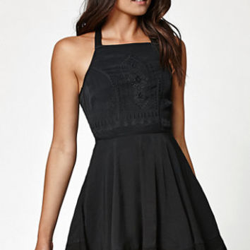 Kendall & Kylie Embroidered Apron Dress at PacSun.com