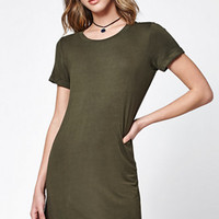 LA Hearts Short Sleeve T-Shirt Dress at PacSun.com