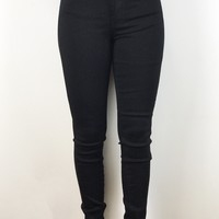 Essential High Waisted Black Jeans