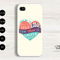 iPhone 5/5s, 5c, 4/4s & Samsung Galaxy S4, S3 Cases | Disney / Frozen Movie iPhone 5 Case