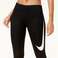 Nike Fashion Exercise Fitness Leggings Sweatpants
