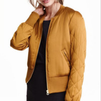 Quilted Cotton Jacket Coat B0014476