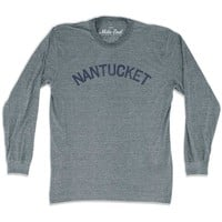 Nantucket City Vintage Long Sleeve T-Shirt