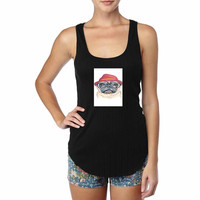 Cute Turquoise Pug Animal Illstration For Woman Tank Top , Man Tank Top S, M, L, XL, 2XL *NS*