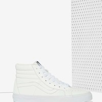 VansSk8-Hi Leather High-Top Sneaker