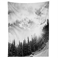 Bird Wanna Whistle White Mountain Tapestry