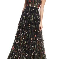 Mac Duggal Embroidered Bustier Gown   Nordstrom