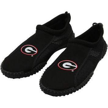 Georgia Bulldogs Water Socks - Black
