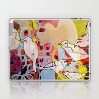 bird song Laptop & iPad Skin by Randi Antonsen | Society6