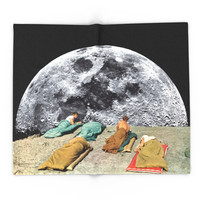 Society6 CAMPGROUND Blanket