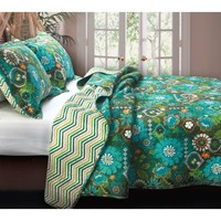 Tropical Garden Quilt Set