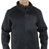 CB Sports Spider Men's Zip Fleece Ribbed Sweater Jacket