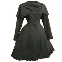 Partiss Women Long Sleeves With Bowknot Classic Lolita Fancy Dress
