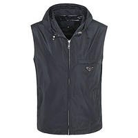 Boys & Men Prada Vest Tank Top Cardigan Jacket Coat