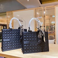 Dior Lingge fashionable all-match low-key handsome street style shopping bag