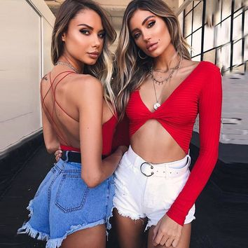 Women's Fashion Summer Hot Sale Backless Sexy One-piece [747997659252]