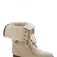 ModCloth Military Munich of Time Boot