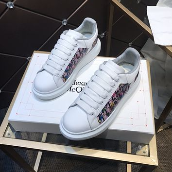 Alexander McQUEEN  Woman's Men's 2020 New Fashion Casual Shoes Sneaker Sport Running Shoes07160gh
