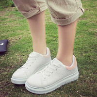 Hot Deal On Sale Stylish Hot Sale Comfort Korean Thick Crust Summer Shoes Casual Height Increase Jogging Sneakers [8865347404]