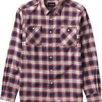 Diamond Ombre Flannel Longsleeve Buttonup XL Red