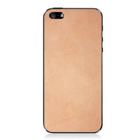 Natural iPhone 5/5s Leather Back