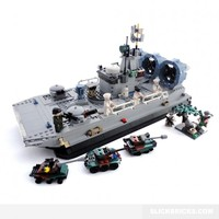 Military Transport Hovercraft - Lego Compatible