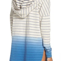 Green Dragon Set Sail Angie Cover-Up Hooded Tunic | Nordstrom