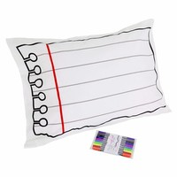 Doodle Pillowcase - Draw on it, wash it, Do it again on the redditgifts Marketplace