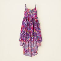 girl - butterfly hi-low dress | Children's Clothing | Kids Clothes | The Children's Place