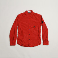 CNCPTS / Stone Island Button Up Overshirt (Red)